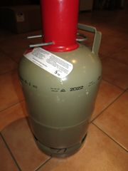 Gasflasche, Propangasflasche 5kg,