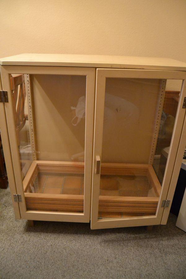 schrank glas gebraucht kaufen nur 4 st bis 65 g nstiger. Black Bedroom Furniture Sets. Home Design Ideas