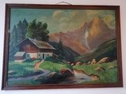 Original Eduard Gerersdorfer Gemälde