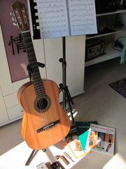 Gitarrenunterricht - klassich, spanisch,