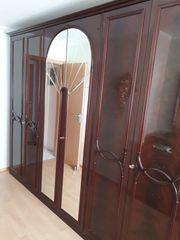 Italienisches Schlafzimmer -Set Mahagoni Hochglanz
