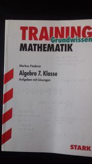 Algebra 7 Klasse - Training Mathematik
