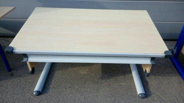 Kinderschreibtisch Höhenverstellbar Tischplatte Mit Neigung In