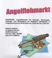 Angelflohmarkt in Dortmund
