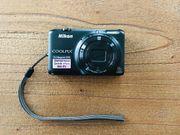 Digitalkamera Nikon Coolpix S6500 inkl