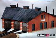 Kibri 9452 H0 Ringlockschuppen Ottbergen