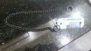 NEUE Edelstahl Halskette /
