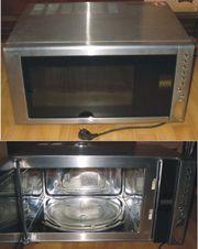 Microwelle mit Heißluft