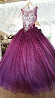 Sehr schönesTürkis Verlobung kleid Sehr