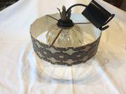Rustikale Deckenleuchte / Lampe
