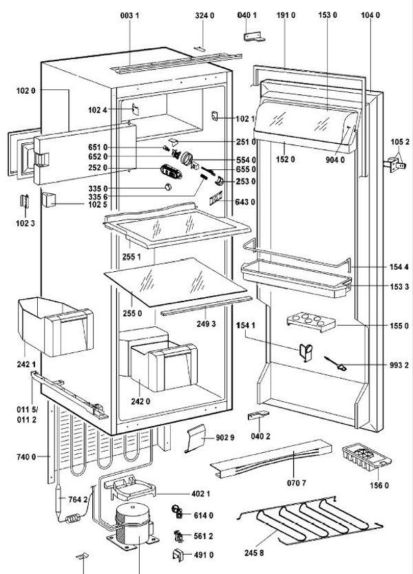 whirlpool kuhlschrank gebraucht kaufen nur 2 st bis 75. Black Bedroom Furniture Sets. Home Design Ideas