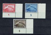 Deutsches Reich 496-498 Eckrandsatz unten