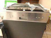Spülmaschine, Geschirrspüler, teilintegriert