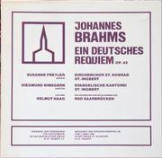 Johannes Brahms-Ein Deutsches Requiem op