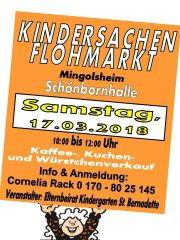 Kindersachenflohmarkt in Mingolsheim