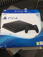 PS4 inkl. Spielen