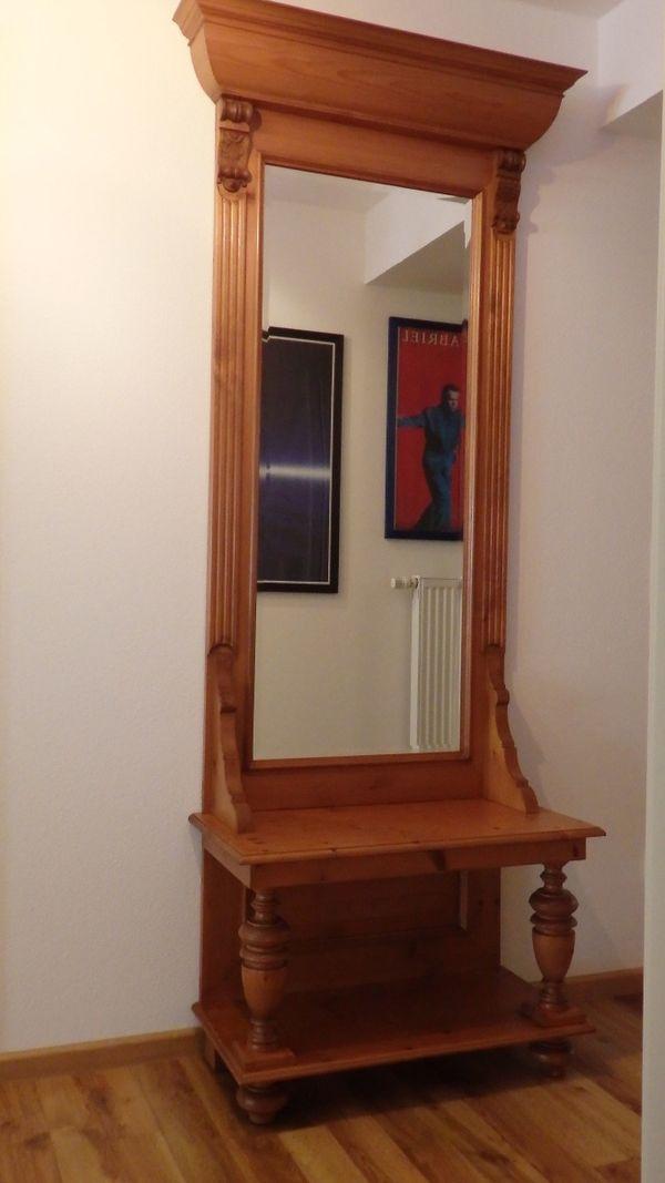 Spiegelkonsole/Standspiegel, Gründerzeit- » Sonstige Möbel antiquarisch