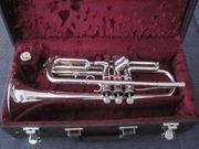 B-Trompete Thein Kompakttrompete versilbert