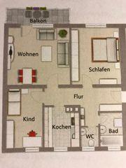 3 Zimmer Wohnung mit Fernblick