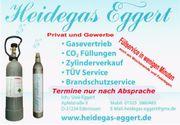 CO2 Füllungen Heidegas -