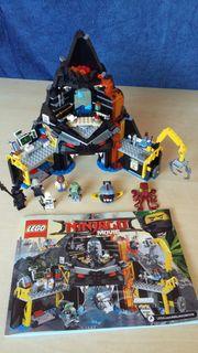 Lego Ninjago Garmadons Vulkanversteck und