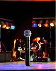 Verleih Musikanlage Mikrofon