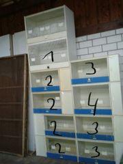 Zuchtboxen Zuchtkäfige aus Kunststoff
