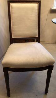 4 Stühle gepolstert von Villeroy