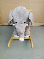 Schauckelelefant, schauckelpferd