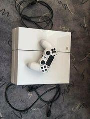 Playstation 4 500GB in Weiß