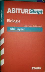 AbiturSkript - Biologie Bayern Taschenbuch