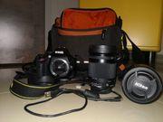 Spiegelreflexkamera Nikon D5200 2 Objektive