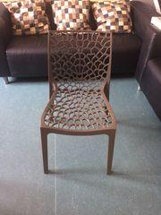 4x moderne Sitz Stühle