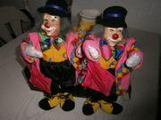 Clowns 2 Stück Neu Stück