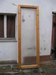Holzrahmen Raumteiler