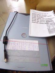 Flachbett-Scanner Fabr Canon mit Inst