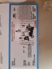 1 Ticket Backstreet Boys 21