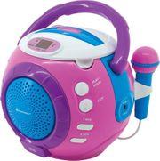 Soundmaster KCD1600PI Kinder CD-Spieler mit