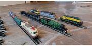 Minitrix Lokomotiven Spur N Vitrinensammlung