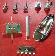 Stratocaster Ersatzteile für