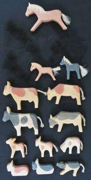 Ostheimer Figuren + Tiere +
