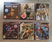 6x Playstation 3 Spiele - PS3