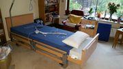 Pflegebett , Hersteller Burmeier