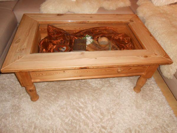 couchtisch kiefer geolt gebraucht kaufen nur 2 st bis 65 g nstiger. Black Bedroom Furniture Sets. Home Design Ideas