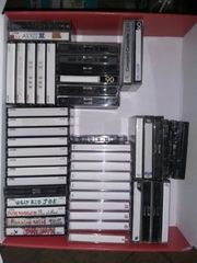 50 Audiokassetten TDK