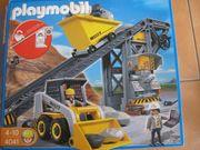 Playmobil Förderanlage mit Kompaktlader 4041
