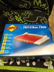 Fritzbox 7360 nur