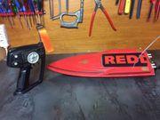 RC Speedboot Komplett-Set