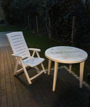 Gartenmöbel Tisch und