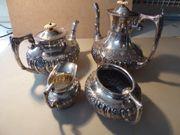 Kaffe Teekannenset Sterling Silber